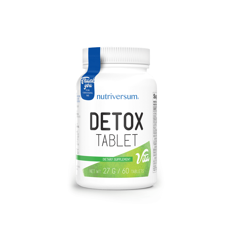 Nutriversum Detox - méregtelenítő kapszula - 60 tabletta
