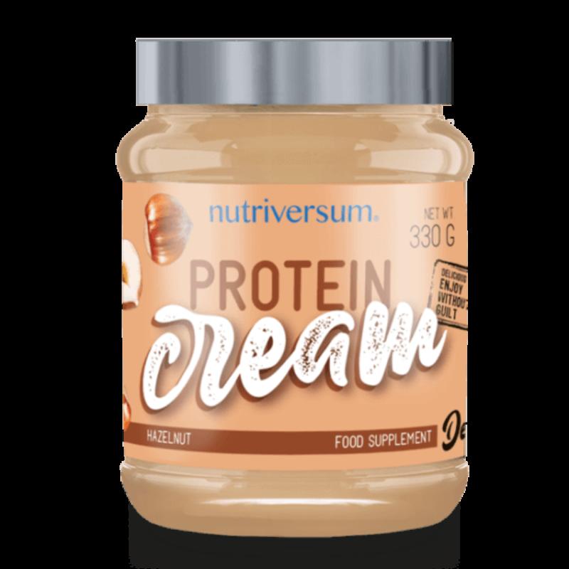 Nutriversum Protein Cream - mogyorókrém fehérjével dúsítva