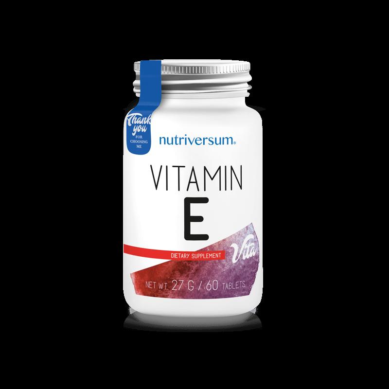 Nutriversum E-vitamin 60 tabletta
