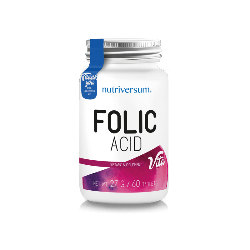 Nutriversum - Folic Acid - Folsav 60 tabletta