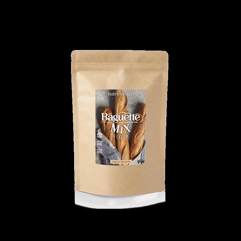 Nutriversum - Gluténmentes bagett lisztkeverék - Baguette Mix - 500 g
