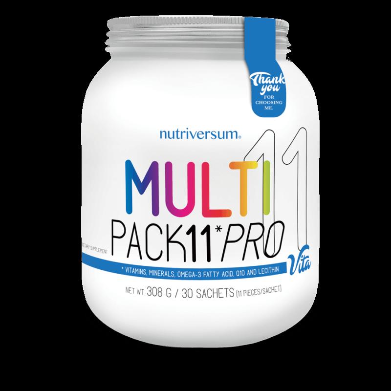 Nutriversum -  Multi Pack 11 Pro - 30 pakk