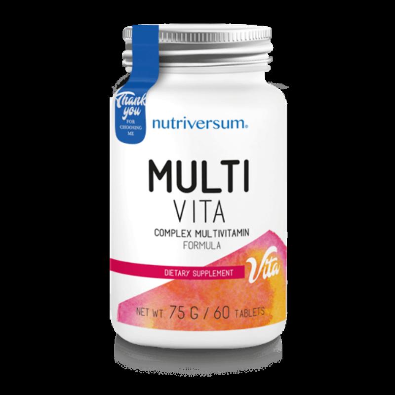 Nutriversum Multi Vita multivitamin - 60 tabletta