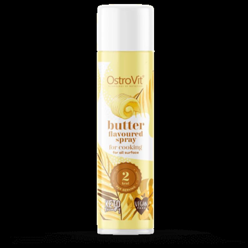 OstroVit Cooking Spray Butter flavoured - vajas ízesítésű főzőspray 250 ml