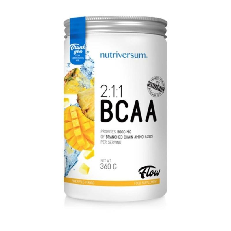 Nutriversum BCAA aminosav ananász-mangó