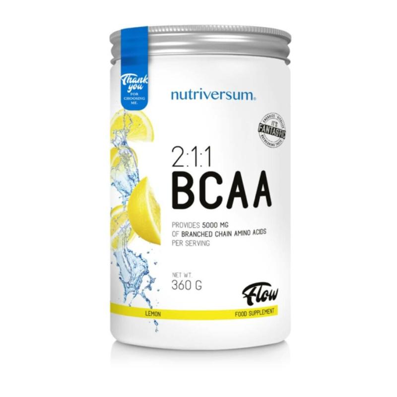 Nutriversum BCAA aminosav citrom