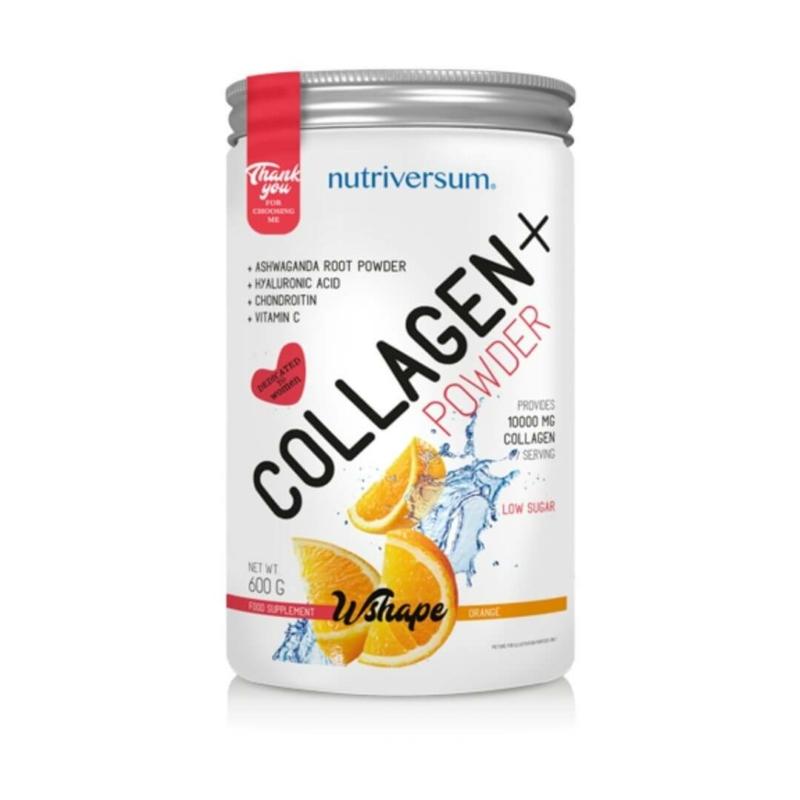 Nutriversum - Collagen+ 600g narancs