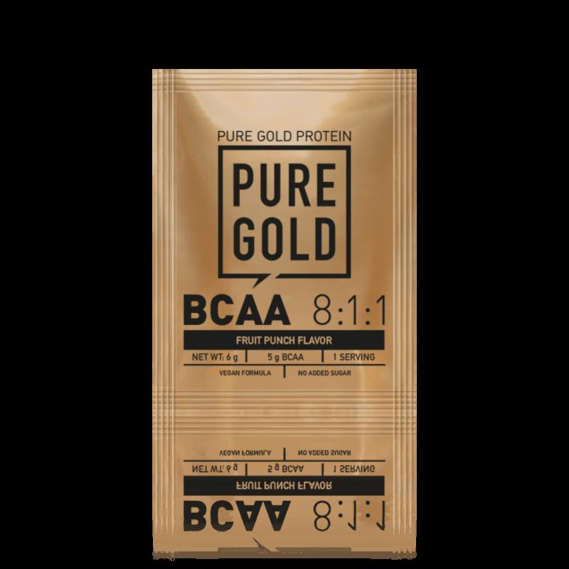 Pure Gold Protein - BCAA 8:1:1- 6g, egy adagos bcaa aminosav