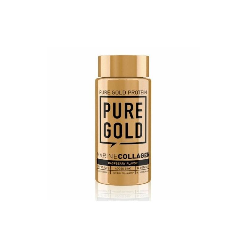 Pure Gold Protein - hidrolizált halkollagén - ízesített - 120g