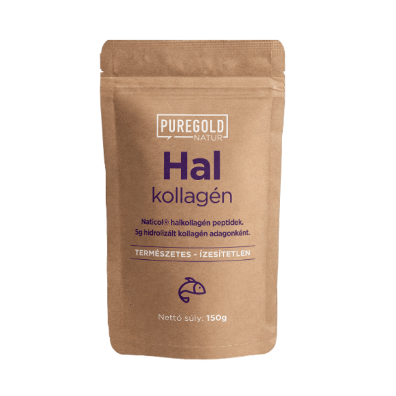 Pure Gold Protein - Natur Line - Halkollagén - 150g