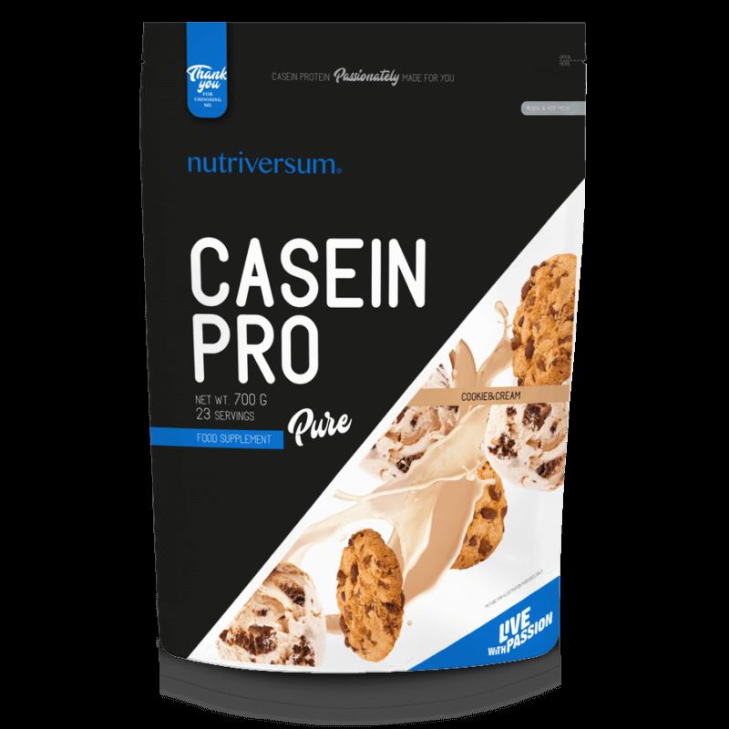 Nutriversum Casein Pro kazein fehérje