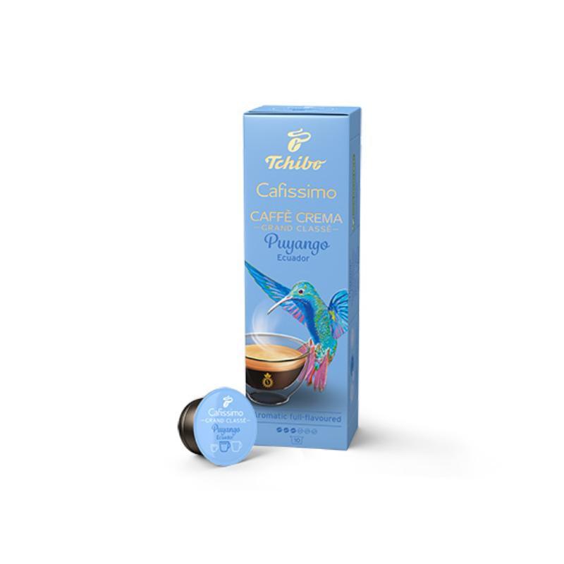 TCHIBO Cafissimo Caffe Crema Puyango Ecuador Grand Classé kapszula