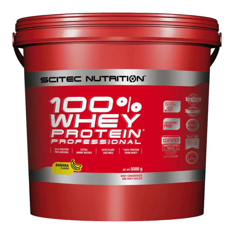 Scitec Nutrition - 100% Whey Protein Professional - 5kg