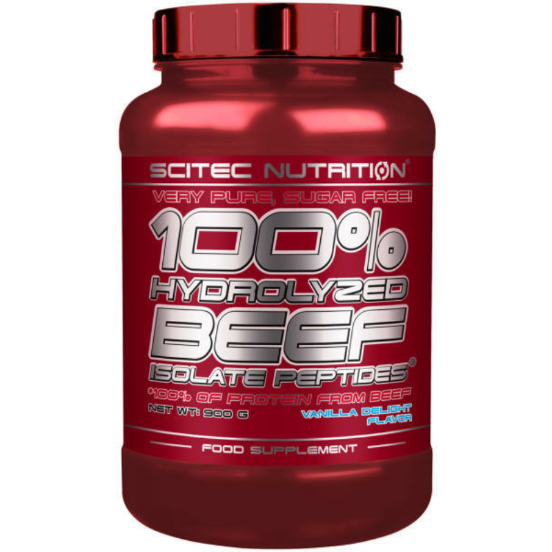 Scitec Nutrition - 100% Hydrolyzed Beef Isolate Peptides - Hidrolizált marha fehérje - 900g