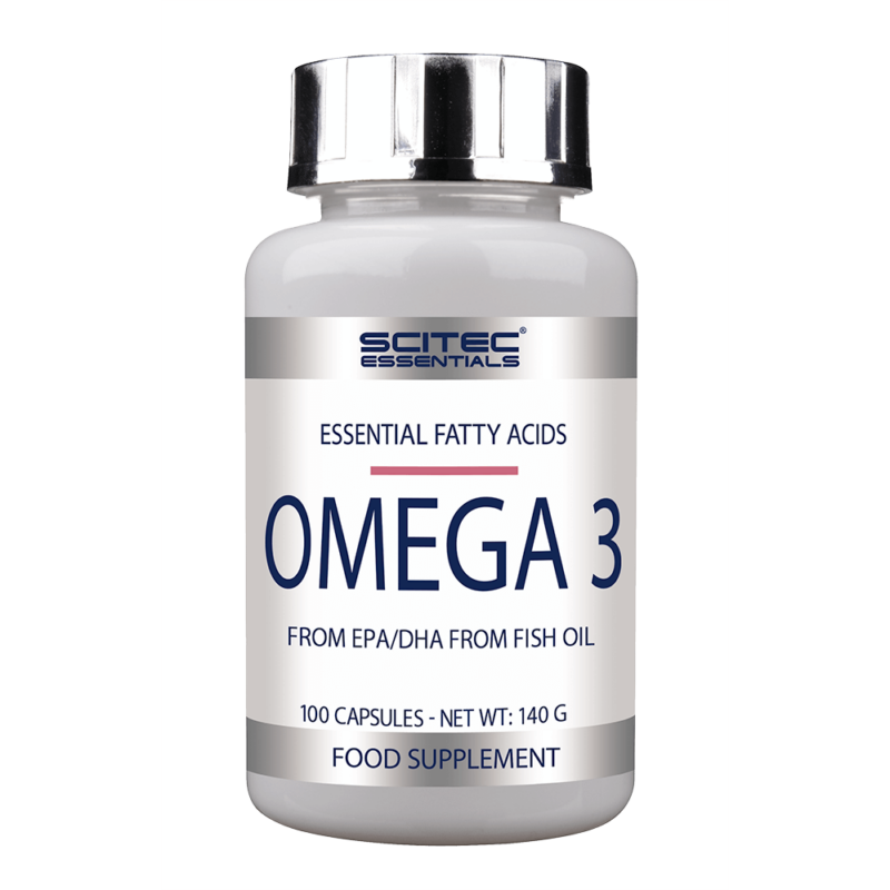 Scitec Nutrition Omega 3 halolaj, 100 gélkapszula