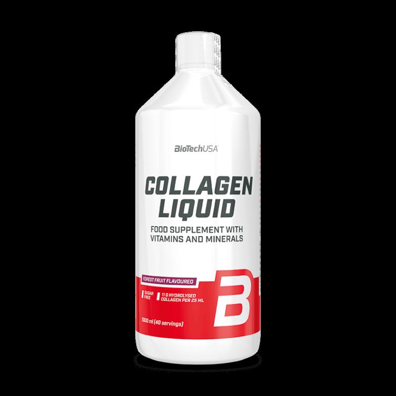 BiotechUSA - Collagen liquid - folyékony kollagén - 1 liter