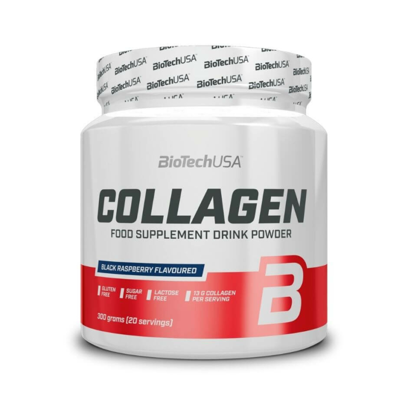 BiotechUSA Collagen - kollagén por - 300g