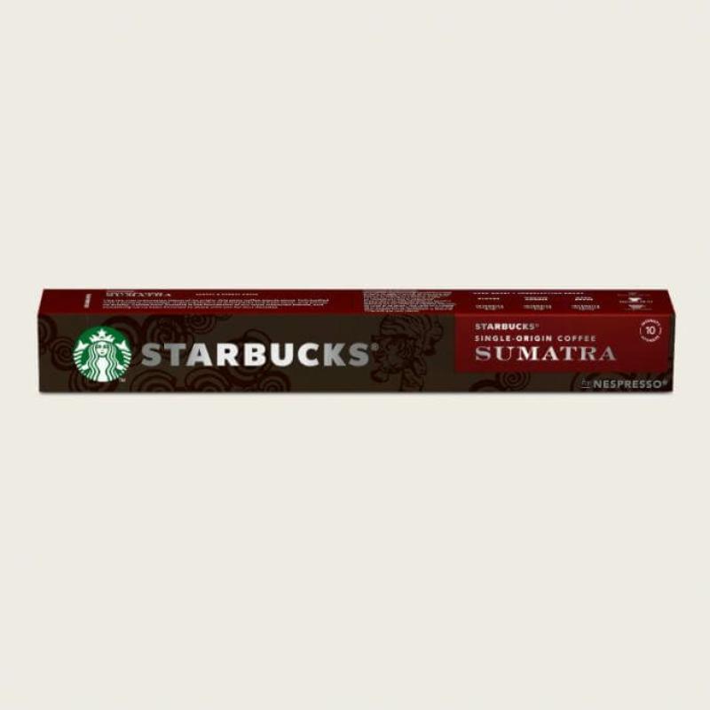 STARBUCKS ® SINGLE ORIGIN COFFEE SUMATRA BY NESPRESSO