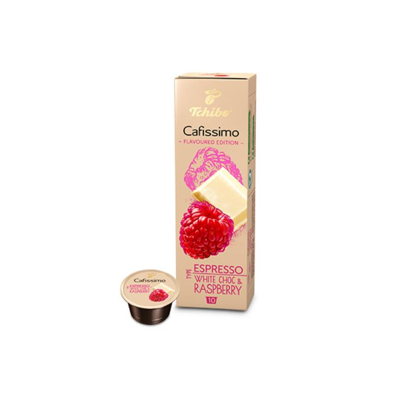 Tchibo Cafissimo fehércsokoládé-málna ízú kávékapszula, 10db