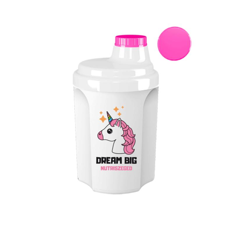 Unicorn shaker - unikornis shaker - keverőpalack 300ml