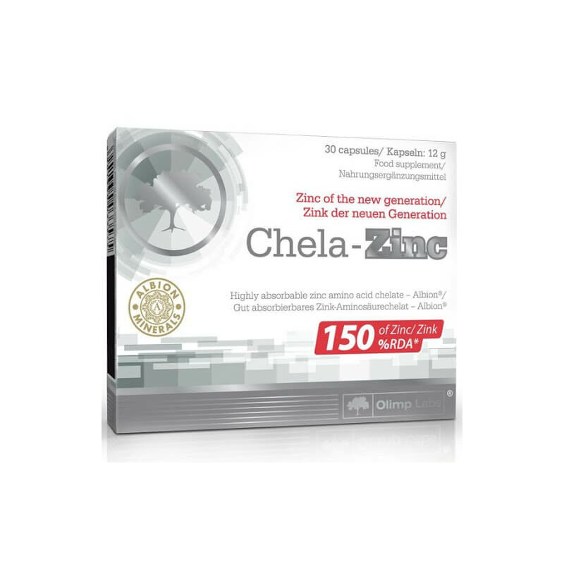 Olimp Labs-Chela-Zinc, organikus cink
