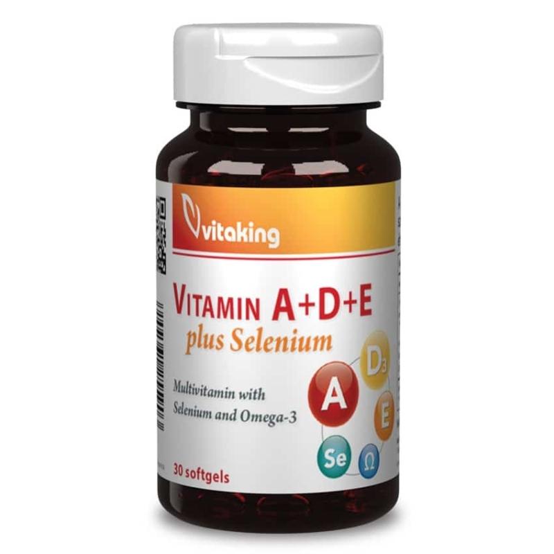 VitaKing - A+D+E plus Szelén - 30db