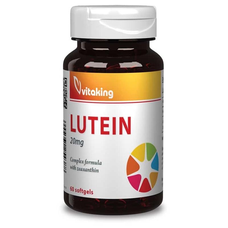 Vitaking Lutein 20mg kapszula – 60db