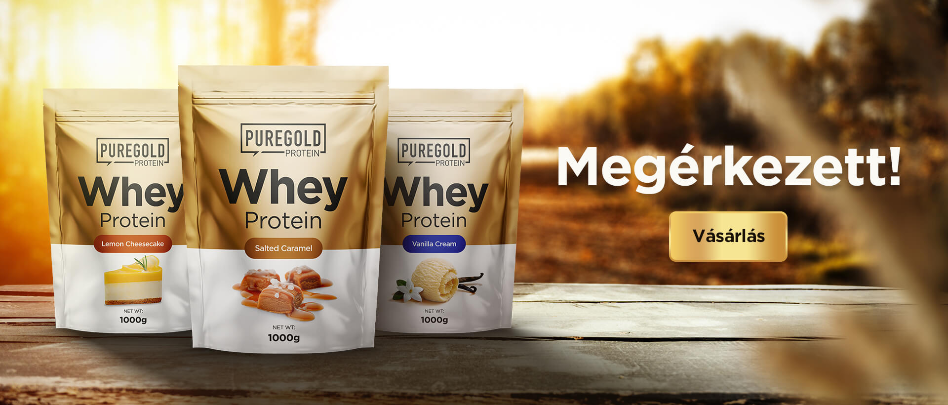 Pure Gold Whey Protein